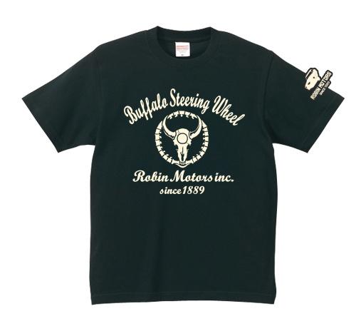 「Buffalo Steering Wheel」 jeansbug ジーンズバグ×東北芸術工科大学オリジナルTシャツ