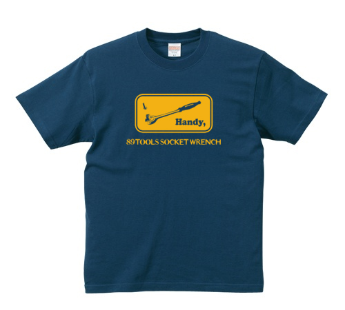 「Socket Wrench」 jeansbug ジーンズバグ×東北芸術工科大学オリジナルTシャツ