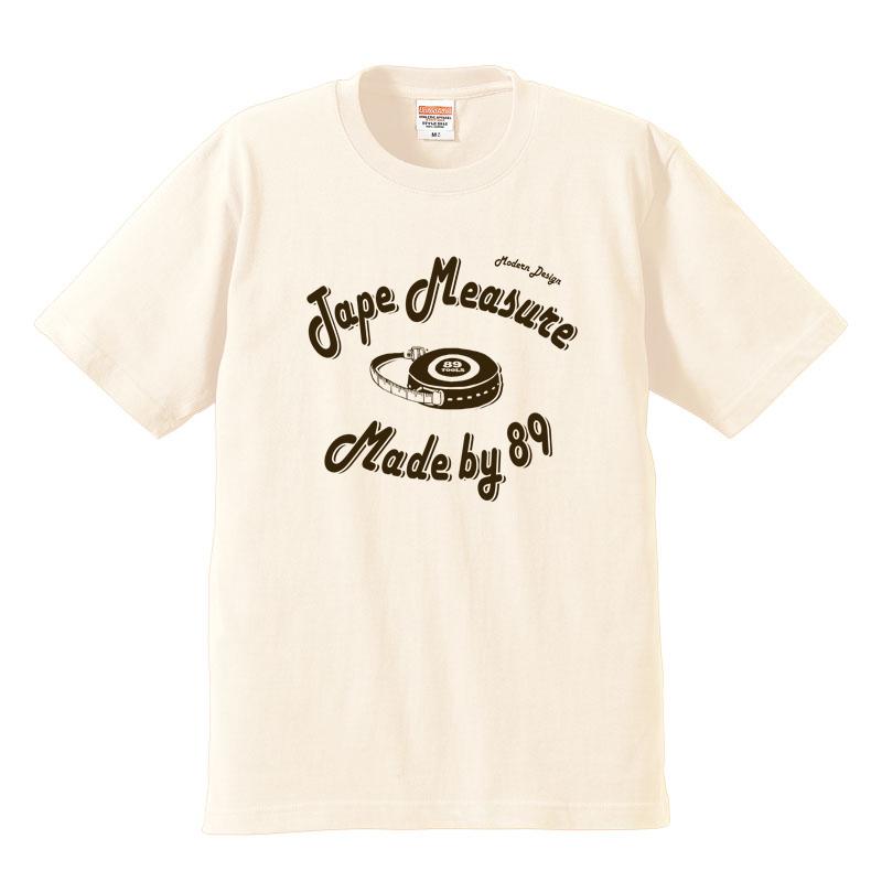 「Tape Measure」 jeansbug ジーンズバグ×東北芸術工科大学オリジナルTシャツ
