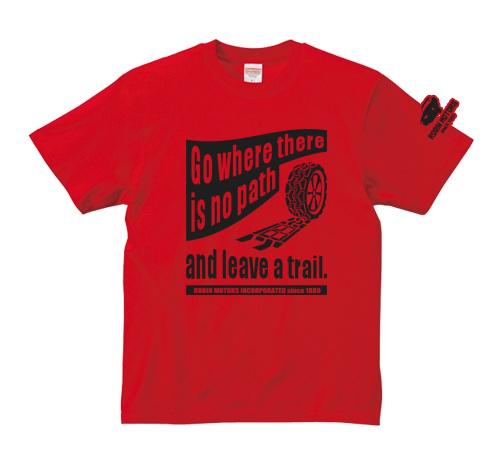 「Tire Track」 jeansbug ジーンズバグ×東北芸術工科大学オリジナルTシャツ