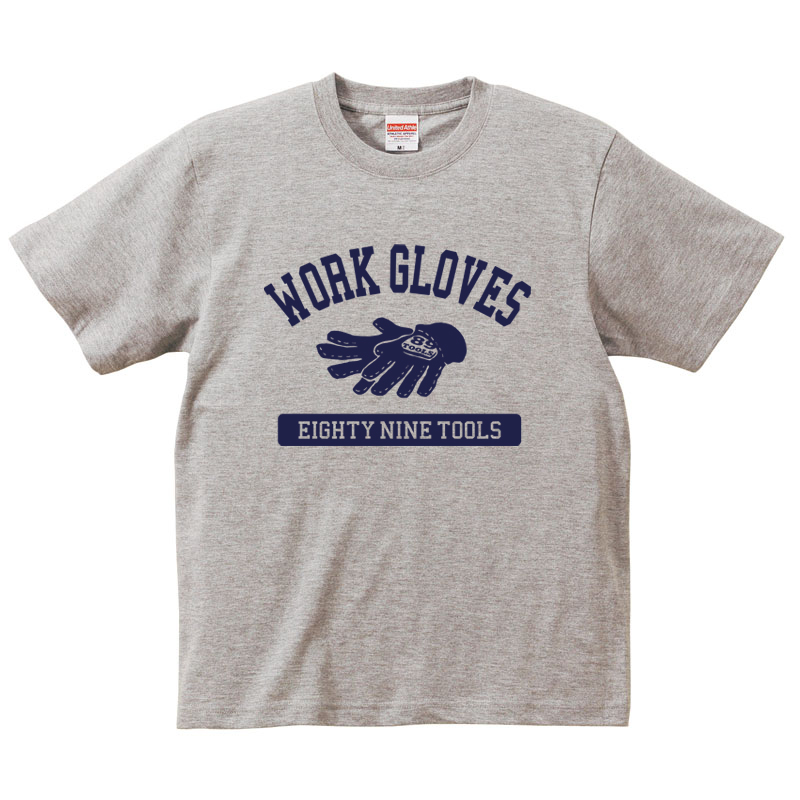「Work Gloves」 jeansbug ジーンズバグ×東北芸術工科大学オリジナルTシャツ