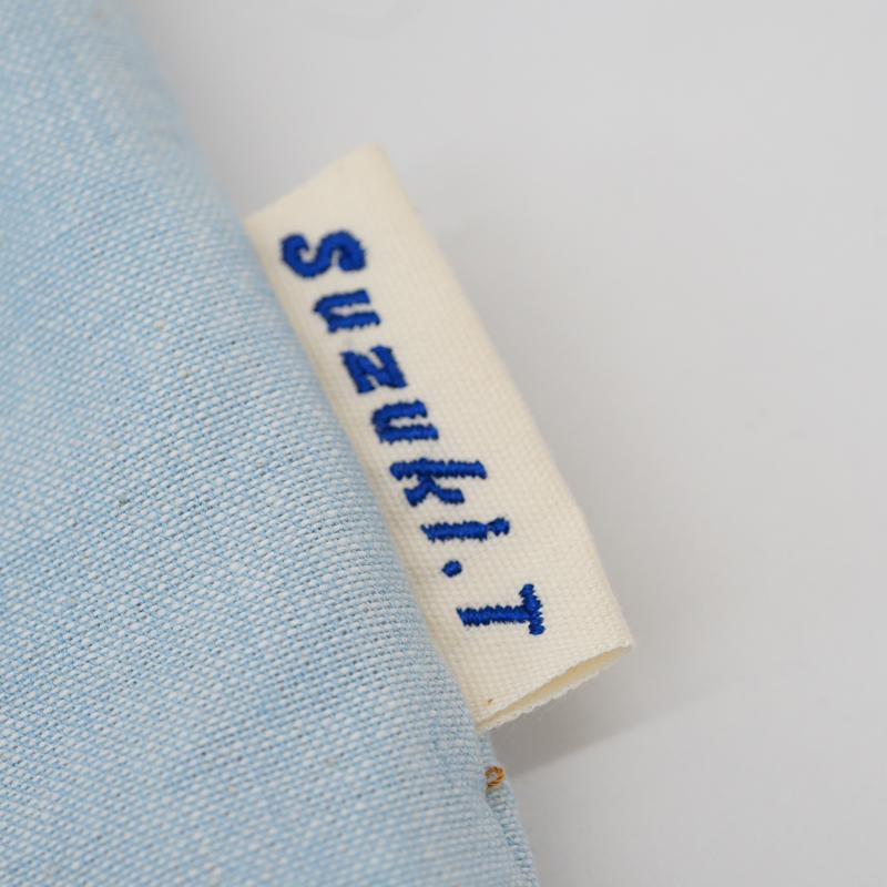 幼稚園・保育園児用ズック袋のネームタグ製作