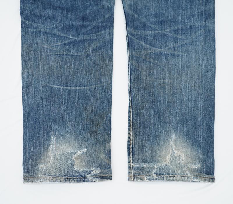 ジーンズ裾部分リペア_Levi's(リーバイス)501
