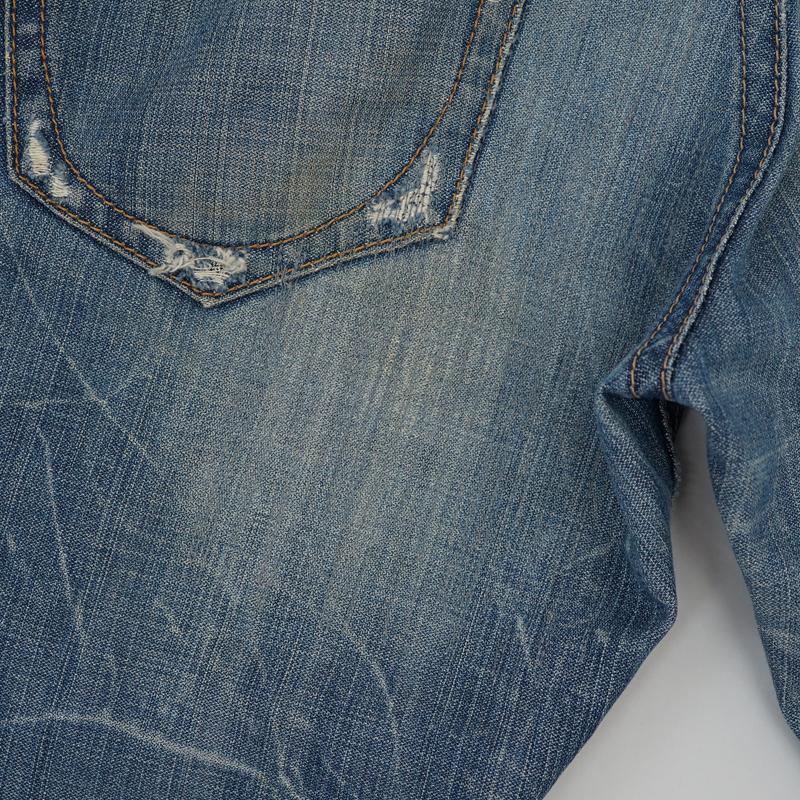 ジーンズ 尻部分補強 リペア(修理)