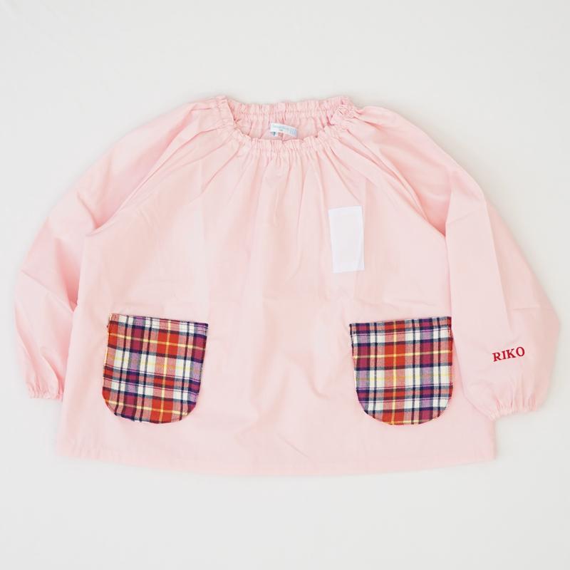 幼稚園児用 スモック(遊び着) ネーム刺繍