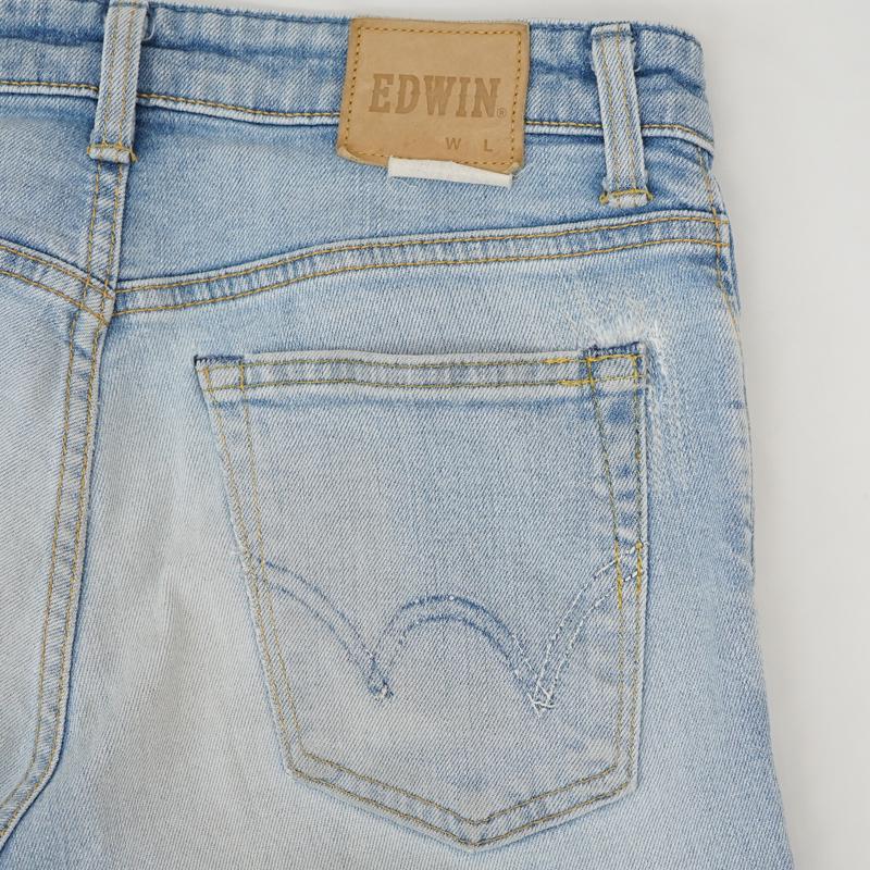 ジーンズ バックポケット・ひざ部分 破れ リペア(修理)|EDWIN(エドウィン)