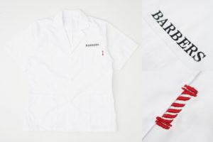 理容店 BARBERS(バーバーズ) 半袖白衣