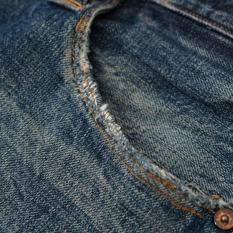 ジーンズ ポケット縁部分 破れ リペア(修理)|STEVENSON OVERALL CO.(スティーブンソンオーバーオール)