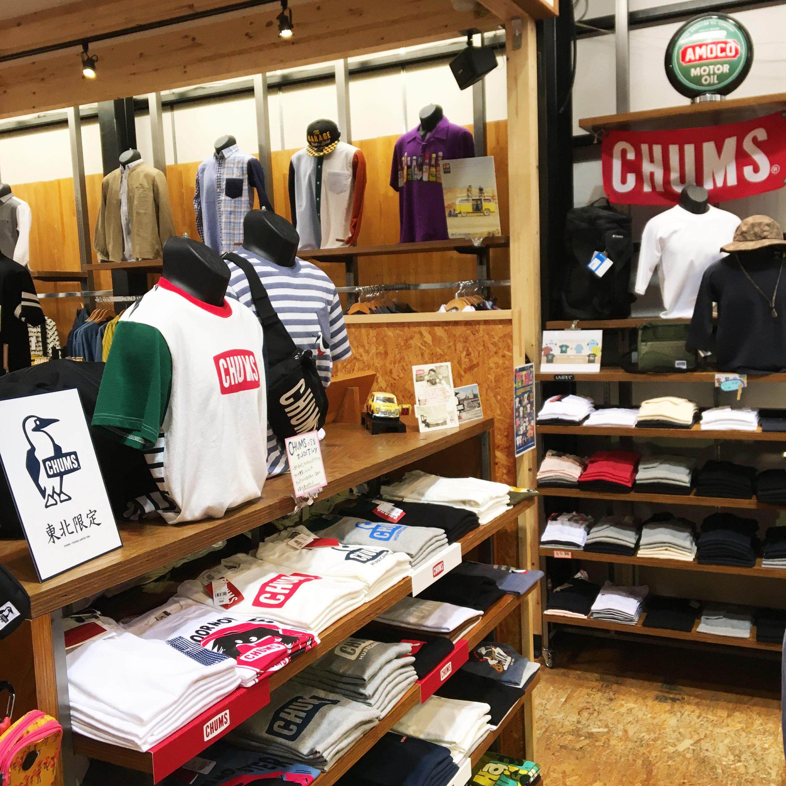 真夏のTシャツ祭り CHUMS チャムス