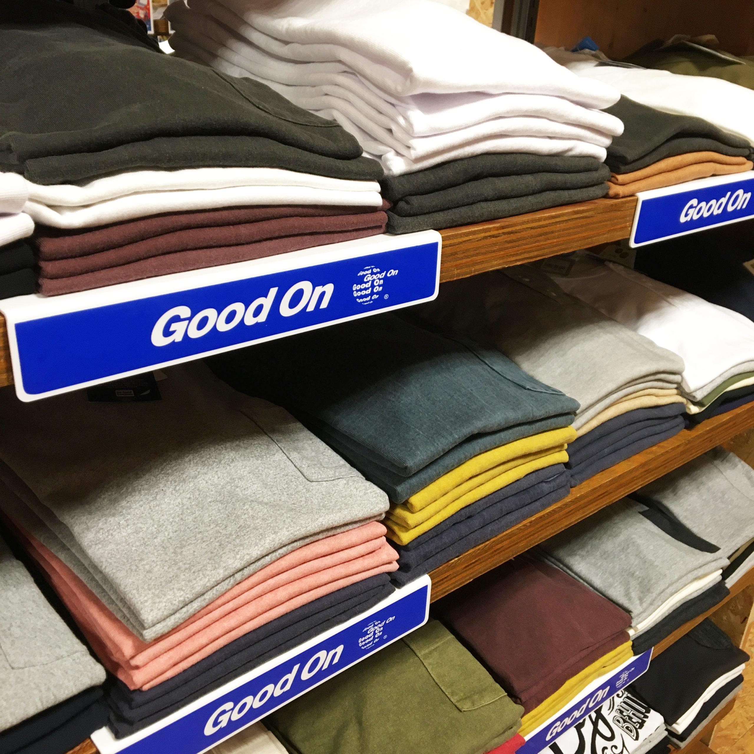 真夏のTシャツ祭り good on グッドオン