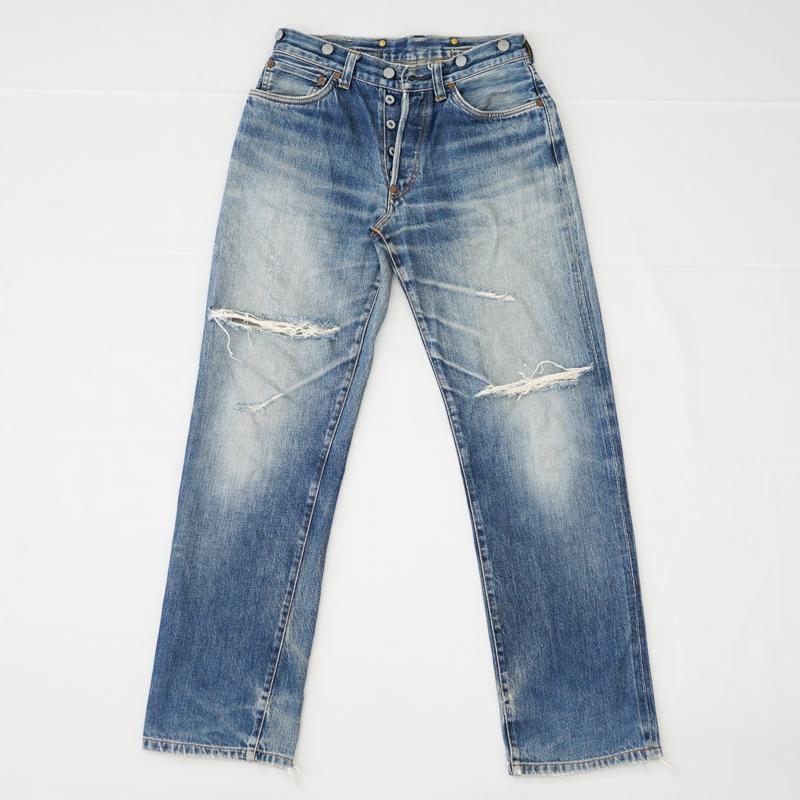 ジーンズ 裾・ひざ・もも部分 破れ リペア(修理)|Labor(レイバー)