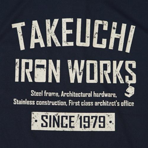 竹内鐵工所 半袖 ポロシャツ|山形市 鉄工所