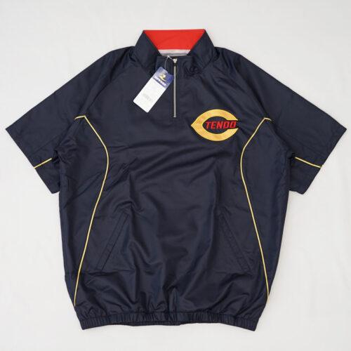 天童中部小 ゴールデンイーグルス 半袖ハーフジップジャケット|天童市 野球 スポーツ少年団