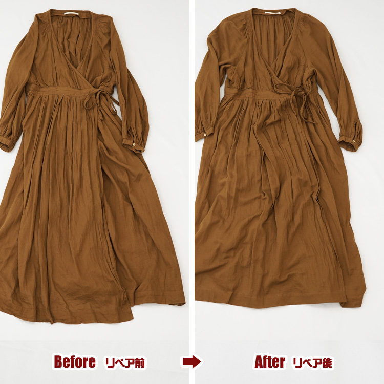 ワンピース ドレス 裾上げ お直し(修理)|ne Quittez pas (ヌキテパ)