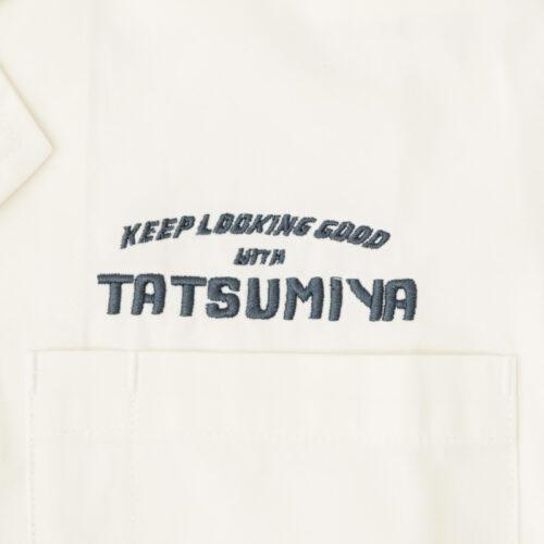 Men's salon TATSUMIYA(メンズサロン タツミヤ) 半袖 白衣 河北町 理容室 床屋